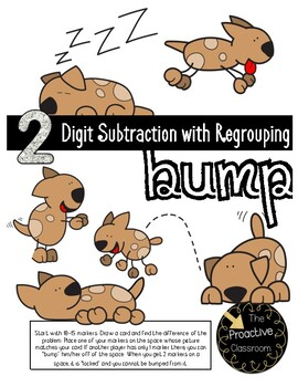 Two Digit Subtraction With Regrouping Bump