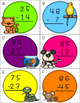 Two Digit Subtraction Without Regrouping Centers BUNDLE