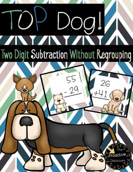 Two Digit Subtraction Without Regrouping Top Dog Game