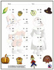 Two Digit Subtraction Worksheets - Thanksgiving/Fall Theme