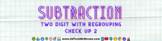 Two Digit Subtraction with Regrouping Activity 2 Google Fo