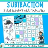 Two Digit Subtraction with Regrouping - Subtraction Games