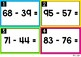 Two Digit Subtraction with Regrouping | Task Cards:
