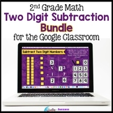 Two Digit Subtraction with Regrouping BUNDLE Google Classr