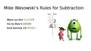 Two-Digit Subtraction with and without regrouping