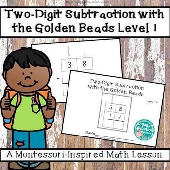 Two-Digit Subtraction with the Montessori Golden Beads Level 1
