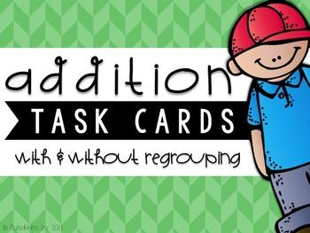 Two-Digit Task Cards {ADDITION & SUBTRACTION BUNDLE}