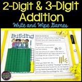2-Digit Addition Games and 3-Digit Addition Games