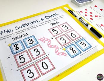 2-Digit Subtraction & 3-Digit Subtraction Games