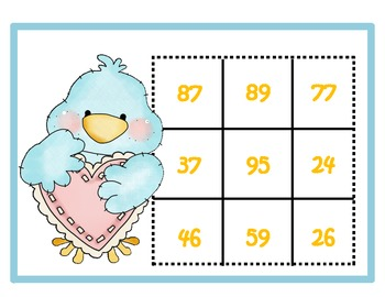 Two-Digit Tweets: A Set of 2-digit Addition Tic-Tac-Toe Games