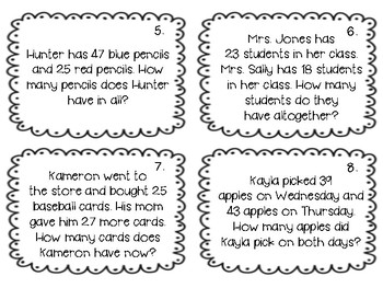 Two-Digit Word Problems
