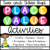 Two Digit and Three Digit Place Value Activities