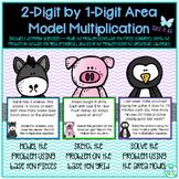 Two-Digit by One-Digit Area Model Multiplication TEKS 3.4G