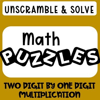 Two Digit by One Digit Multiplication | November Math Puzzle | 4NBT5