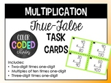 Two-Digit by One-Digit Multiplication Task Cards