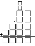 Two-Digit by Two-Digit Multiplication Template