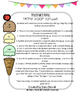 Two Digit by Two Digit Multiplicaton Ice Cream Activity