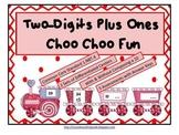 Two-Digits Plus Ones Choo Choo Fun (Common Core Aligned)