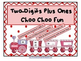 Two-Digits Plus Ones Choo Choo Fun (Common Core Aligned)