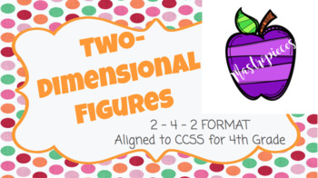 Two-Dimensional Figures Homework