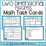 5th Grade Two Dimensional Figures Task Cards | Two Dimensi
