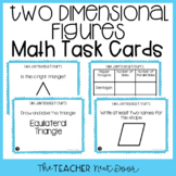 4th Grade Two Dimensional Figures Task Cards | Two Dimensi