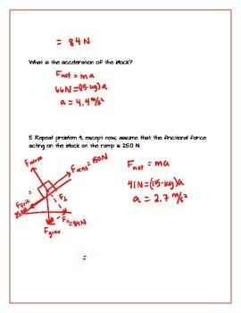 Two Dimensional Force Problems
