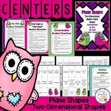 Two-Dimensional Plane Shapes Math Center Games