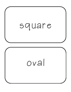 Two-Dimensional Shape Flashcards