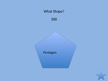 Two-Dimensional Shape Game