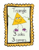Two Dimensional Shape Posters