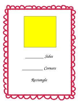 Two Dimensional Shape Posters for Math