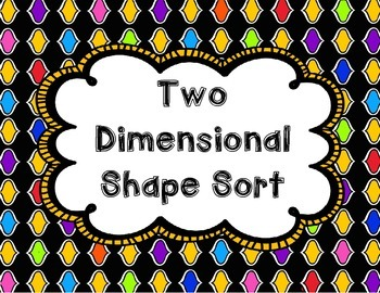 Two Dimensional Shape Sort