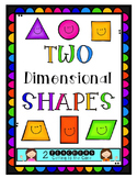 Two Dimensional Shapes- Posters & Reader