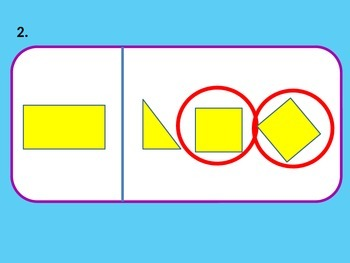 Two-Dimensional Shapes.  Combining to Make New Shapes