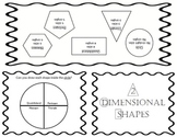 Two Dimensional Shapes Foldable
