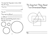 Two-Dimensional Shapes Important Book