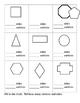 Two Dimensional Shapes - Math Quiz