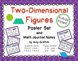 2D Shapes Posters Word Wall