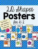 Two Dimensional Shapes Posters