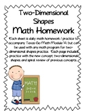 Two-Dimensional Shapes Practice