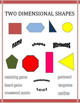 Two Dimensional Shapes Unit Plan