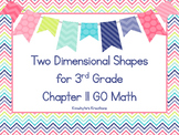 Two Dimensional Shapes for 3rd Grade - GO Math