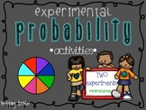 Two Experimental Probability Activities- Very Minimal Prep!