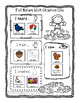 Two Free Fall Nature Walk Observation Worksheets- Differentiated