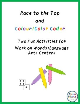 Two Fun Activities for Work on Words