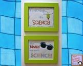 Two Fun Science Posters Freebie