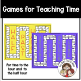 Two Games for Teaching Time (O'Clock and Half Past)