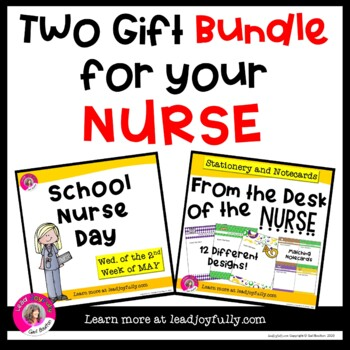 Two Gift BUNDLE for your NURSE