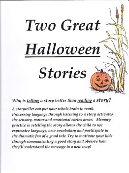 Two Great Halloween Stories